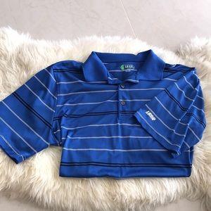 IZOD short sleeve golf shirt.